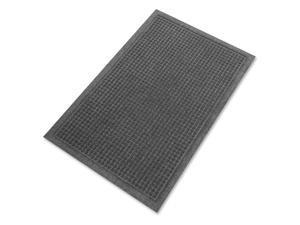 Genuine Joe Indoor Floor Mats 4'x6' Charcoal Gray 58937