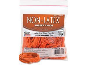 Non-Latex Orange Rubber Bands