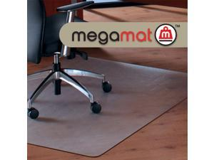 Floortex Cleartex MegaMat Heavy-Duty Polycarbonate Mat for Hard Floor/All Carpet