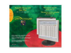 compucessory 20506 security glare filter tempered
