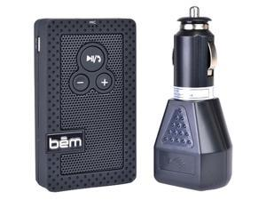 Bem Speaker System - Portable - Battery Rechargeable - Wireless Speaker(s) - Black