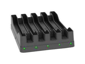 PORTSMITH 'portDox GTA' 5 slot Samsung Galaxy Tab Active charging cradle (includes 12V Power Supply)