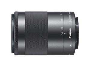Canon EF-M 55 200mm f/4.5-6.3 IS STM Lens - Silver #1122C002
