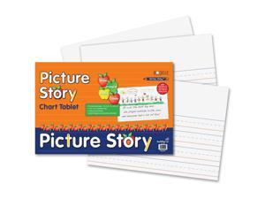 Pacon Ruled Picture Story Chart Tablet