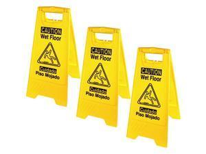 Genuine Joe Universal Graphic Wet Floor Sign