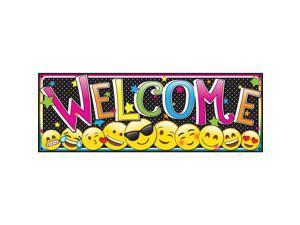Ashley Magnetic Emoji Welcome Banner