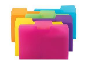 Smead SuperTab Poly File Folders