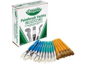 Crayola Paintbrush Variety Classpack