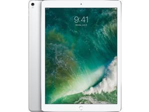 """Apple iPad Pro Tablet - 12.9"""" - (64GB, Wi-Fi + 4G LTE, Silver) - MQEE2LL/A"""