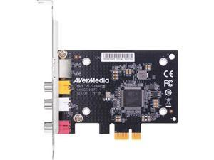 AVerMedia SD PCIe Frame Grabber Composite S-Video Interfacing Functions CE310B