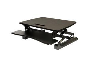 """Seville Classics AIRLIFT 35.4"""" Gas-Spring Height Adjustable Standing Desk"""