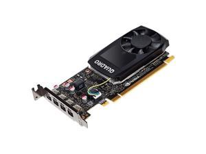 PNY Quadro P1000 Graphic Card - 4 GB GDDR5 - Low-profile - Single Slot Space Required