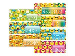 Ashley Emoji Design Decorative Hall Pass