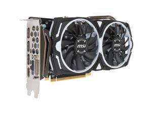 MSI RX 470 ARMOR 4G OC Radeon RX 470 Graphic Card - 1.23 GHz Core - 4 GB GDDR5