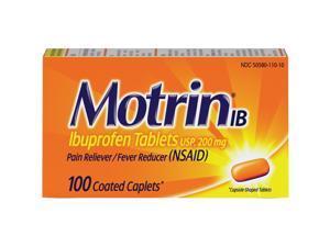 Motrin Ibuprofen Caplets
