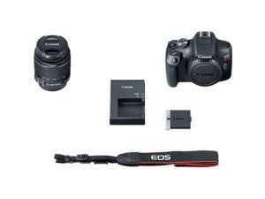 Canon EOS Rebel T7 24.1 Megapixel Digital SLR Camera with Lens - 18 mm - 55 mm