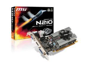 MSI N210-MD1G/D3 GeForce 210 Graphic Card 1 GB DDR3 SDRAM G2101D3