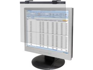 """Business Source 19""""-20"""" Widescreen LCD Privacy Filter Clear"""