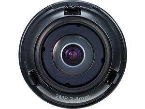 Hanwha Techwin SLA-2M2400D - 2.40 mm - f/2 - Fixed Lens