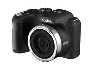 "Kodak PIXPRO AZ252 16.2 Megapixel Bridge Camera - Red - 3"" LCD - 16:9 - 25x Optical Zoom - 4x - Optical (IS) - 4608 x 3456 Image - 1280 x 720 Video - HDMI - PictBridge - HD Movie Mode"
