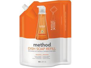 Method Clementine Scent Dish Soap Refill