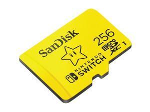SanDisk 256 GB Class 10/UHS-I U3 microSDXC SDSQXAO256GANCZN