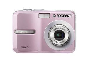 Samsung S860 8.1 Megapixel Compact Camera - Pink