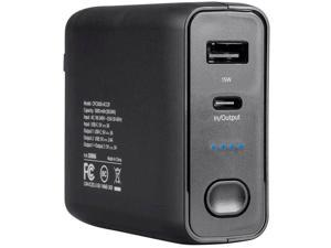 4XEM 5000mAh Power Bank and Wall Charger Combo 4XCPC5000CHARGE