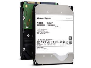 HGST/WD Ultrastar DC HC510/He10 HUH721010ALE604 10TB 7200 RPM 512e SATA 6Gb/s 3.5-Inch Enterprise HDD | Helioseal Power-Disable Hard Drive