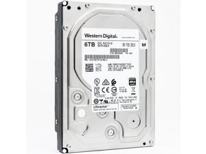 WD Ultrastrar DC HC310 6TB 4Kn SATA 6Gb/s 7200 RPM 3.5-Inch Enterprise HDD — HUS726T6TALN6L4