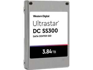 "WD/HGST Ultrastar SS300 3.84TB SAS 12Gb/s 2.5"" Enterprise SSD (HUSTR7638ASS200)"