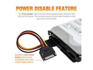 HGST/WD Ultrastar DC HC510/He10 HUH721008ALE600 8TB 7200 RPM 512e SATA 6Gb/s 3.5-Inch Enterprise HDD   Helioseal Power-Disable Hard Drive