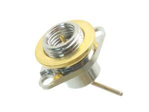 1pce Connector SMA male plug flange bulkhead Panel mount Straight