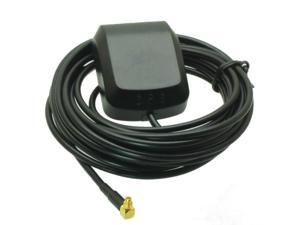 MCX male connector RG174 3M cable GPS Active Antenna 1575.42MHz right angle