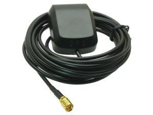 MCX female jack connector RG174 5M mini GPS Active Antenna 1575.42MHz 3-5V