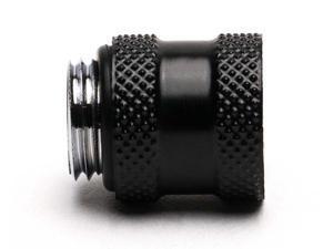 15 mm PrimoChill Male//Female G1//4 Extension Coupler SX Satin Black
