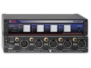 AES/EBU and S/PDIF Digital Audio Selector