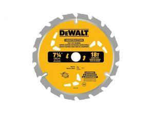 """DeWalt Construction Fast Cut Framing Circular Saw Blades 18T 7-1/4"""" 885911495905"""