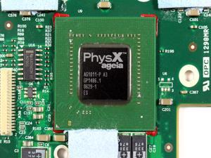 Dell XPS M1730 NVIDIA PhysX Ageia 128MB Graphics Video Card Module RY946