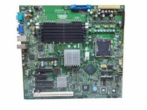New Genuine Dell PowerEdge T300 LGA 775 Socket DDR2 SDRAM 6 Slots Server Motherboard With Tray TY177 0TY177