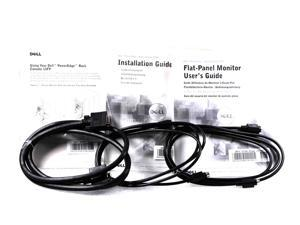 Dell PoweEdge Rack 2-Keyboard Extension Cable & 1 Monitor Cable Kit 2Y200 02Y200 CN-02Y200