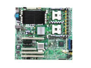New Intel Dual Socket 603/604 SSI EEB 3.5 DDR SDRAM 8 Slots 800 MHz SE7520BD2SATAD2