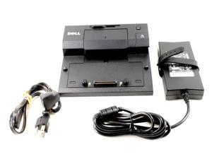 Dell Latitude E5430 E5440 E-Port Replicator Docking Station with AC Adapter And Power Cord PR03X J577C XH703 T308D