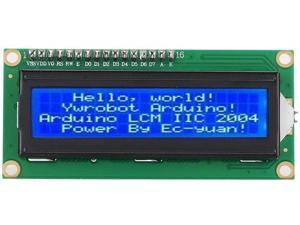 HW-060A LCD Display Module, 3.3V 1602 LCD Screen IIC I2C Module Interface Adapter for Arduino Uno Raspberry pi, Blue Backlight