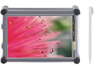 Raspberry Screen, 3.5 inch TFT LCD Touch Screen Display with Acrylic Case for Raspberry Pi 3B+.