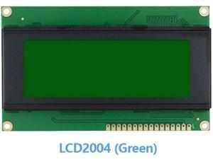 LCD1602 LCD2004 LCD12864 IIC/I2C Module Display, Blue/Green Screen for Arduino UNO Mega 2560 Raspberry pi (LCD2004 (Green))