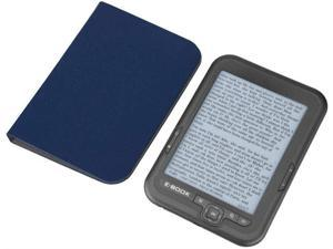6 inch E-Reader with 800x600 Resolution E-Ink Display 300DPI E-Book with Blue Cover (16GB 8GB 4GB)(Grey 8G)
