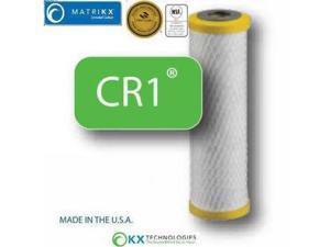 "MatriKX (19-250-125-975) 9.75""x2.75"" CR1 Carbon Block Cyst Reduction 0.5 Micron Filter"