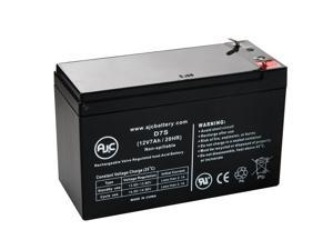 Duracell SLAA6-1.3F 12V 7Ah Sealed Lead Acid Battery - This is an AJC Brand Replacement