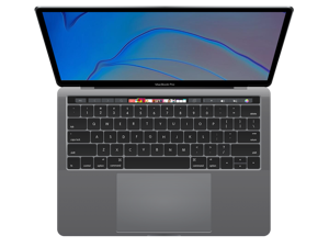 "Apple MacBook Pro 13"" Retina True Tone Laptop (Touch Bar, 8th Gen Quad-Core Intel Core i5 2.4GHz, 8GB RAM, 256GB SSD) Space Gray - A1989 (2019)"